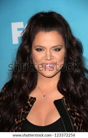"Khloe Kardashian at the ""The X Factor"" Season Finale News Conference, CBS Televison City, Los Angeles, CA 12-17-12"