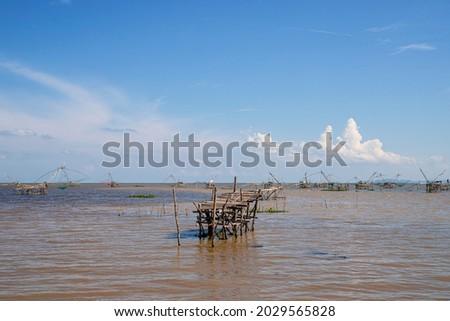 khlong pak pra phatthalung thailand Foto stock ©