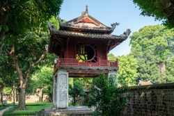 Khue Van Cac pavilion in Temper of Literature ( Van Mieu ) - Vietnam first national university, was built in 1070