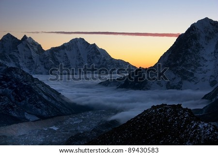 Khumbu valley - way to mt Everest base camp
