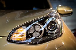 KIA head light