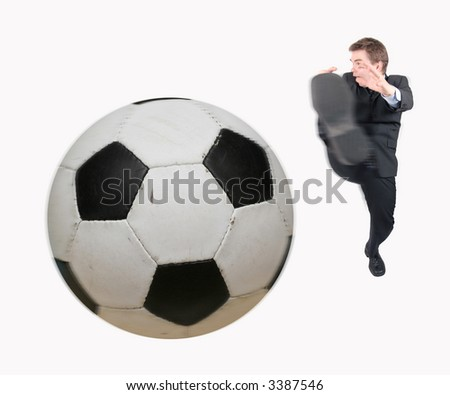 Kicing the ball