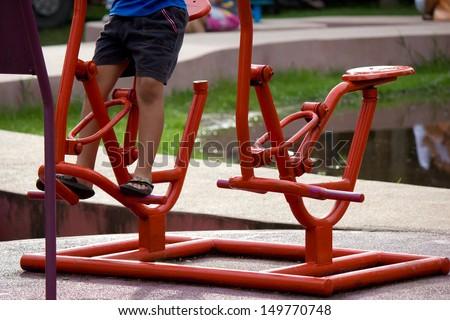 kid exercise
