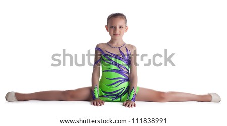 Pictures of Kids Doing Gymnastics Splits