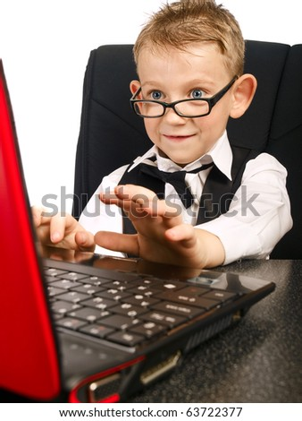 http://image.shutterstock.com/display_pic_with_logo/253174/253174,1287955839,1/stock-photo-kid-in-glasses-on-laptop-63722377.jpg