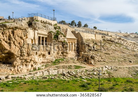 Kidron Valley, Jerusalem #365828567