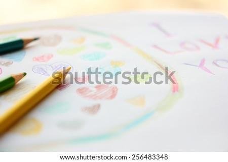 Kids drawing.