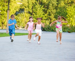 Kids find joy in competition