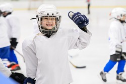 Kids hockey.