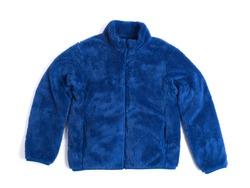 Kids jacket made of fleece material