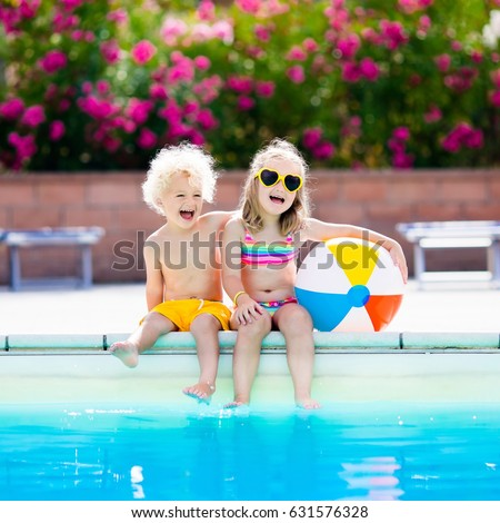 Happy In Pool Images