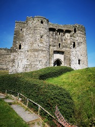 Kidwelly Castle, Carmarthenshire, South Wales