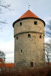Kiek in de Kok is a tower that forms part of the fortifications of Tallinn in Estonia. It is an old artillery tower that forms part of the city wall surrounding Tallinn old town.