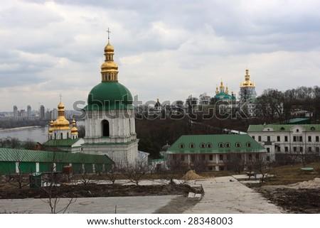 Kiev Pechersk Lavra is a historic Orthodox Christian monastery, Ukraine.