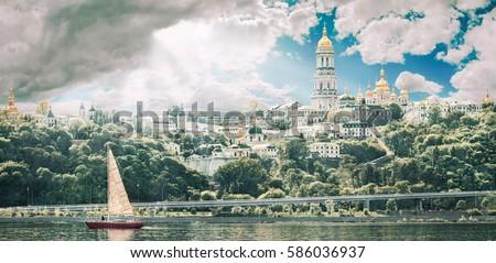 kiev pechersk lavra or the kiev ...