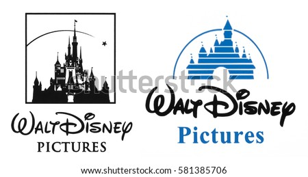 Kiev, Ukraine - February 15, 2017: Walt Disney logo placed on white background. The Walt Disney Company is an American diversified multinational mass media and entertainment conglomerate.