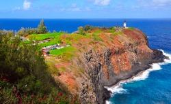 Kilauea Historical Lighthouse Kauai Island Hawaii