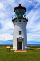 Kilauea lighthouse on the island of Kauai, Hawaii Islands.