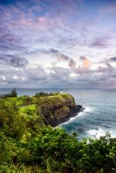 Kilauea Point, Kauai, Hawaii, at sunrise