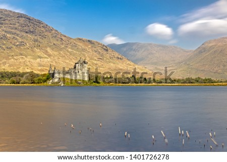 Kilchurn Castle at Loch Awe in the Highlands of Scotland #1401726278