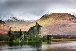 Kilchurn Castle in Winter