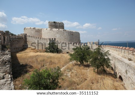 Kilitbahir Castle In Gallipoli Peninsula,Canakkale,Turkey ...