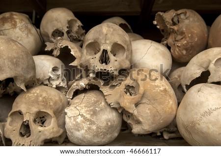 Killing Fields of Choeung Ek - Phnom Penh / Cambodia