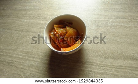 kim chi or kimchi, traditional korean food,