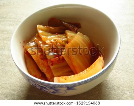 Kim chi, traditional korean food