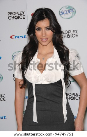 Kim Kardashian at nominations announcement party for the People's Choice Awards at Area Nightclub, West Hollywood. November 9, 2007  Los Angeles, CA Picture: Paul Smith / Featureflash