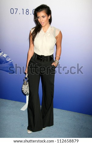 Kim Kardashian at the Chelsea Football Club Hollywood Party. Private Location, Hollywood, CA. 07-18-07