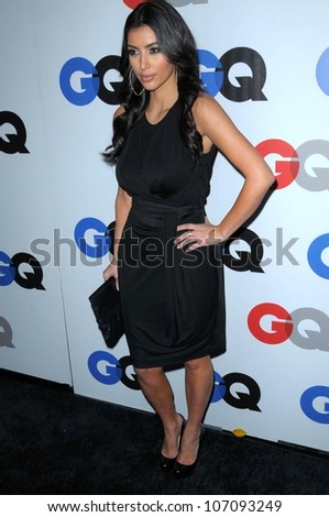 Kim Kardashian  at the 2008 GQ 'Men of the Year' Party. Chateau Marmont Hotel, Los Angeles, CA. 11-18-08