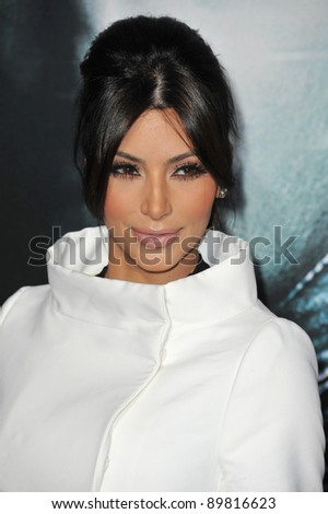 "Kim Kardashian at the Los Angeles premiere of ""Unknown"" at the Mann Village Theatre, Westwood. February 16, 2011  Los Angeles, CA Picture: Paul Smith / Featureflash"