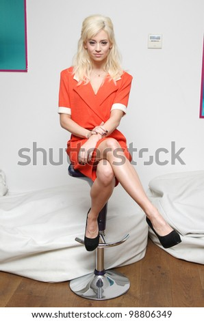 Kimberly Wyatt launches her new dance-inspired clothing line London 07/03/2012 Picture by: Henry Harris / Featureflash