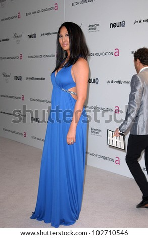 Kimora Lee  at the 18th Annual Elton John AIDS Foundation Oscar Viewing Party, Pacific Design Center, West Hollywood, CA. 03-07-10