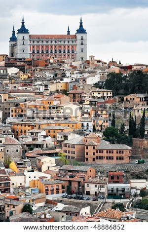Kind on city Toledo - former capital of Spain.