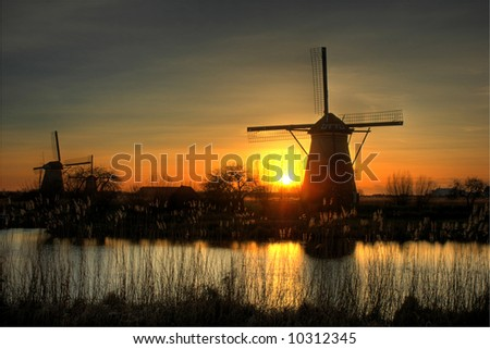 Kinderdijk is a village in the Netherlands, partly in the municipality Nieuw-Lekkerland, partly in the municipality of Alblasserdam, in the province South Holland, about 15km east of Rotterdam.
