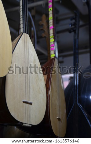 Kinds of Oud offered for sale in the Musical Instrument Shop