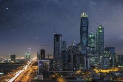King Abdullah Financial Center  Riyadh, capital of Saudi Arabia