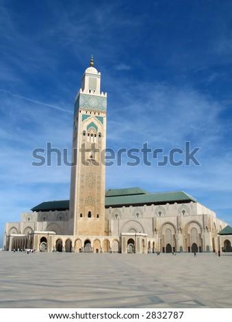 King Hassan II mosque Casablanca, Morocco