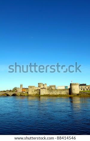 King Johns Castle Limerick City Ireland
