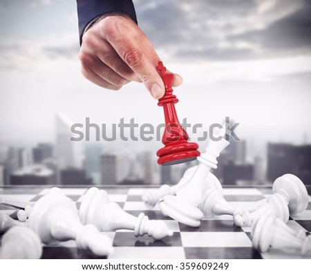 King of chess Stock photo ©