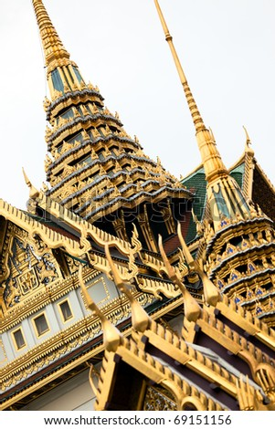 King palace in Bangkok - stock photo
