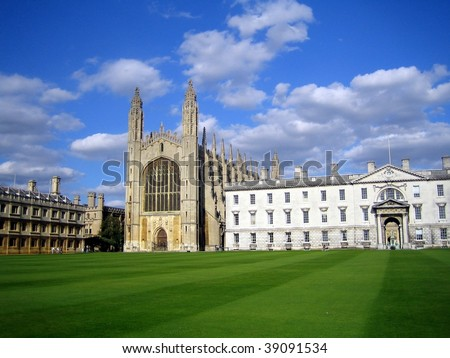 King's College, Cambridge, UK