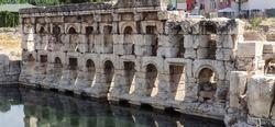 King's daughter bath, also known as Sarikaya Roman bath or basilica therma, Yozgat, Turkey.