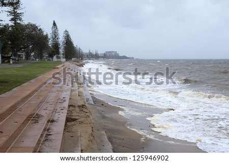 King Tide in Queensland, Australia