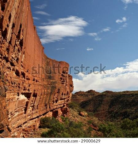 Kings Canyon - stock photo