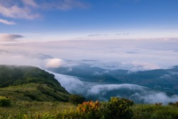 Kio Mae Pan Nature Trail, Doi Inthanon , Location Chomthong District, Chiang Mai Province North of Thailand