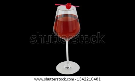 Kir Cocktail Picture