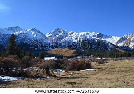 kirghiz mountains